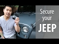 Secure Your Jeep with BOLT Hood Lock