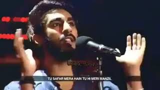 Tu Safar Mera Hi Tu Hi Meri Manjil Tere Bina Gujara a Dil Hai Mushkil video song
