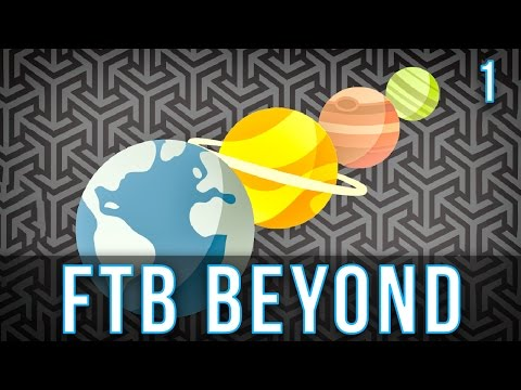 Getting Started   FTB Beyond   Episode 1