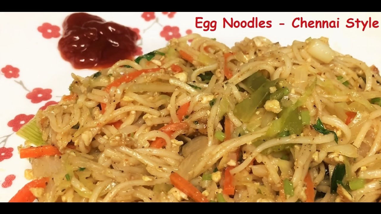 Egg noodles chennai style indian style simple and tasty in egg noodles chennai style indian style simple and tasty in tamil youtube forumfinder Images