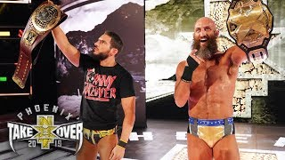 What?! Gargano and Ciampa unite in celebration: NXT TakeOver: Phoenix (WWE Network Exclusive)