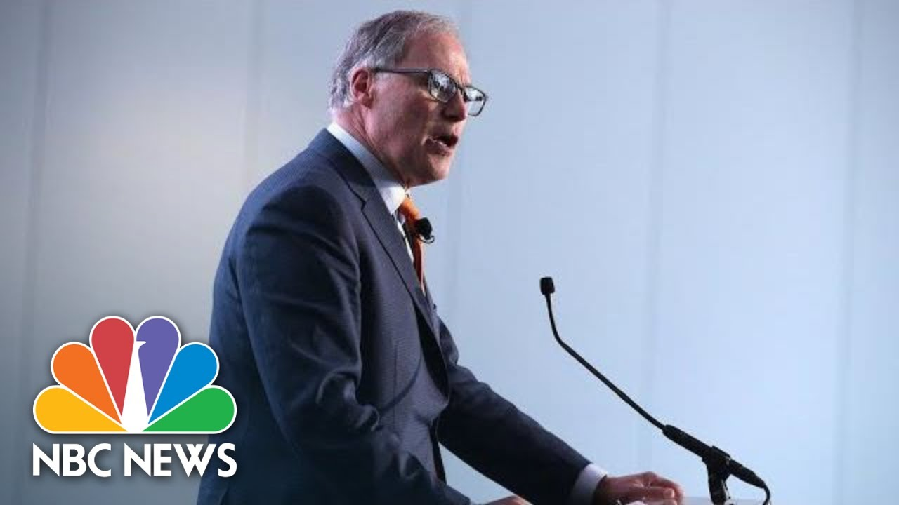 Washington State Governor Gives Update On Coronavirus Deaths | NBC News (Live Stream Recording)