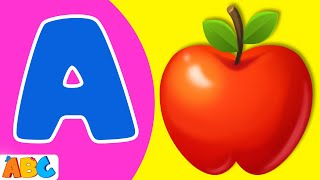 phonics song   abc phonics song for babies toddlers   new animated abc phonics a to z song