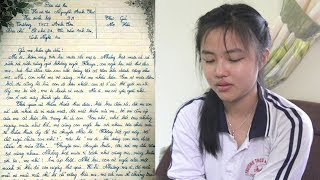 Rơi nước mắt với Bức thư gửi mẹ đã k,huất của Nữ sinh lớp 9 ở Nghệ An