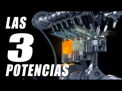 Cuáles son las 3 POTENCIAS de un motor con turbo compresor?