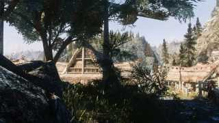 Beautiful Skyrim Landscapes: Dragon Bridge