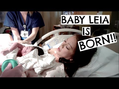 Baby Leia Is Born!! | First Minutes After Birth (Birth Vlog)