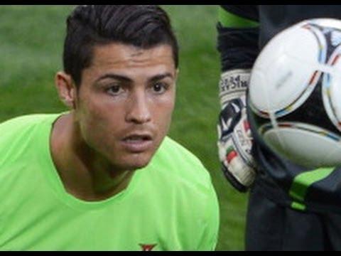 Cristiano Ronaldo Backs Portugal To Shock Germans YouTube - Cr7 hairstyle euro 2012