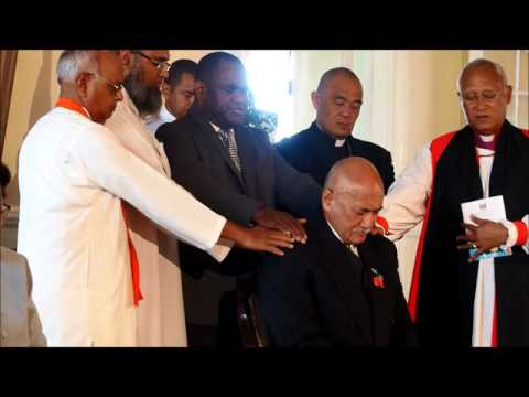 Swearing In of New Fijian President, Jioji Konrote