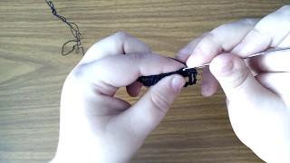 Как связать кокетку крючком?Часть 1
