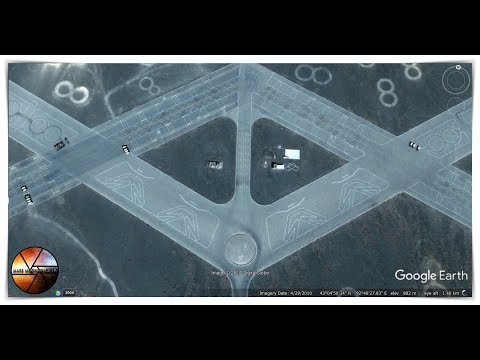 Modern Spaceport Revealed on Google Earth in China