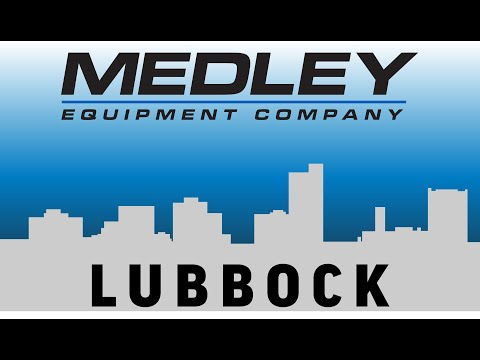 Best Local Forklift Dealer | West Texas | Lubbock | Medley Equipment Company