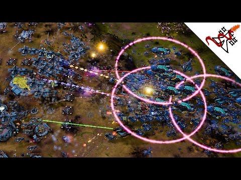 Ashes of the Singularity: ESCALATION - 2v2v2 INSANE BATTLES
