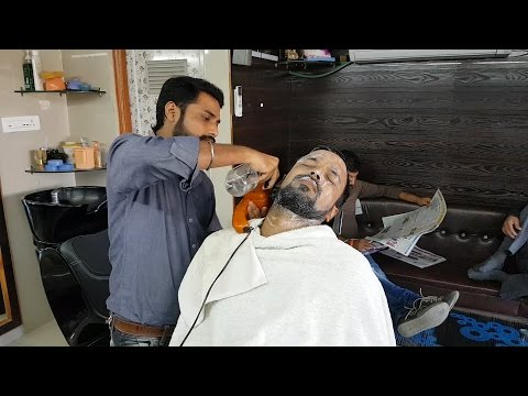 Amazing Ear Cleaning Technique with Face Massage