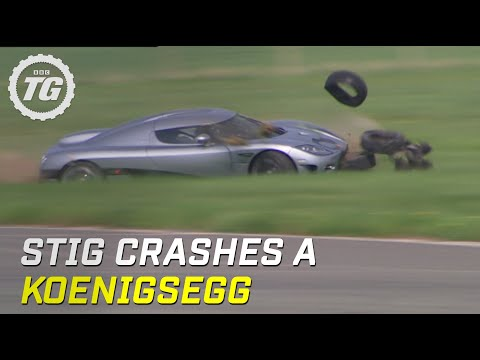 Thumbnail: Stig Crashes Koenigsegg CCX (HQ) - Top Gear - Series 8 - BBC