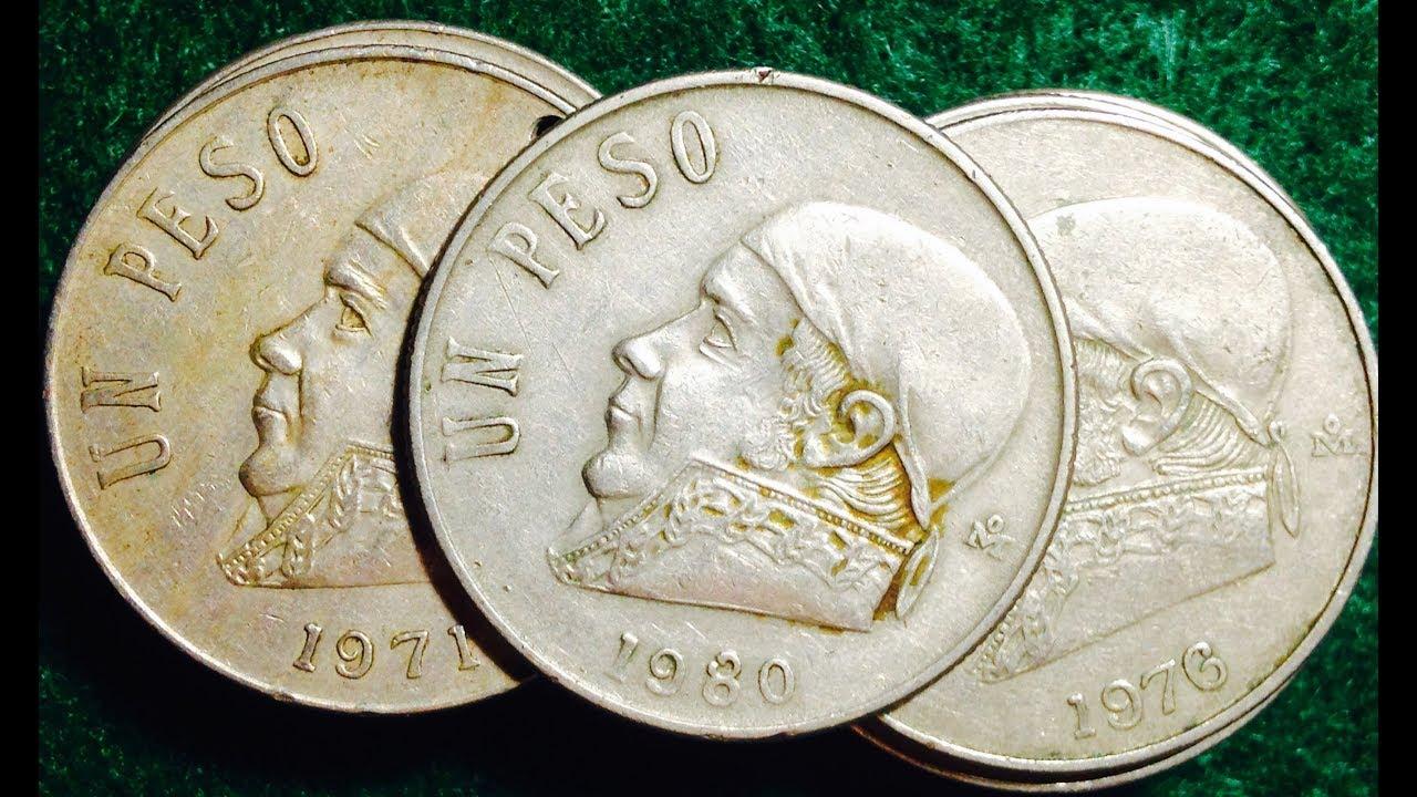 Mexico Peso Dated 1980