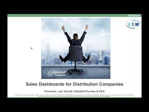 Sales Dashboards for Distribution Companies