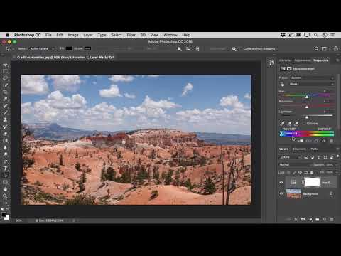 How To Adjust Color Saturation In Photoshop