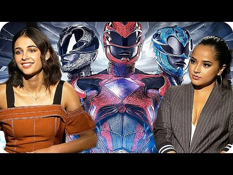 POWER RANGERS Everybody loves the Pink Ranger (2017) Interview with the cast