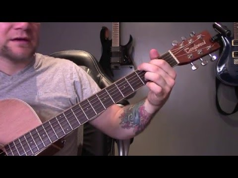 Goo Goo Dolls - Iris Guitar Lesson In Standard Tuning