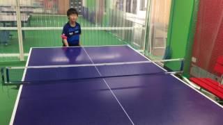 祐コーチの後継者!? 甥っ子に卓球パフォーマンスを指導しました(^_^) ...