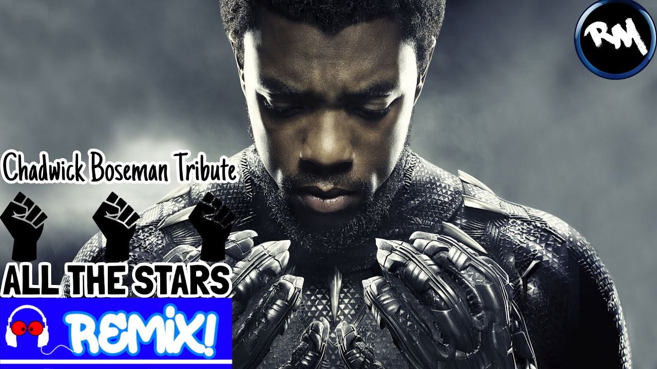 Kendrick Lamar, SZA - All The Stars (Chadwick Boseman Tribute Remix) -RM