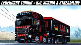 "[""#EuroTruckSimulator2"", ""#AmericanTruckSimulator"", ""mods december"", ""THE KING OF L.A. Kenworth W900"", ""SCANIA RJL & STREAMLINE WITH LEGENDARY"", ""SCANIA"", ""RJL"", ""STREAMLINE"", ""ets2 1.39"", ""1.40"", ""SCS Software"", ""SACHIYH"", ""simulator"", ""Custom KENWORTH K200 V14 HCC EDIT"", ""New Custom Deloupe Lowboy Trailer"", ""TEST CUMMINS ISX ENGINE"", ""Classic Gentleman Freightliner XL"", ""western star 5700 legacy"", ""New G7 1800 DD Volvo + Tons Skins"", ""Mod CAT 3408 V8 ENGINE"", ""euro truck simulator 2"", ""Toast"", ""Neranjana Wijesinghe"", ""#Mr GermanTruck""]"