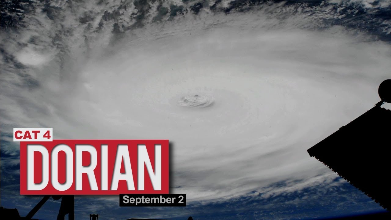 This is What Hurricane Dorian Looks Like From Space