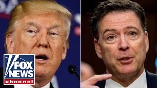 Trump claims Comey memos show no collusion or obstruction