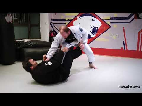 Team Bert BJJ - Worm Guard Sweep