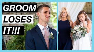 GROOM CRIES?!?!  // DREAM WEDDING