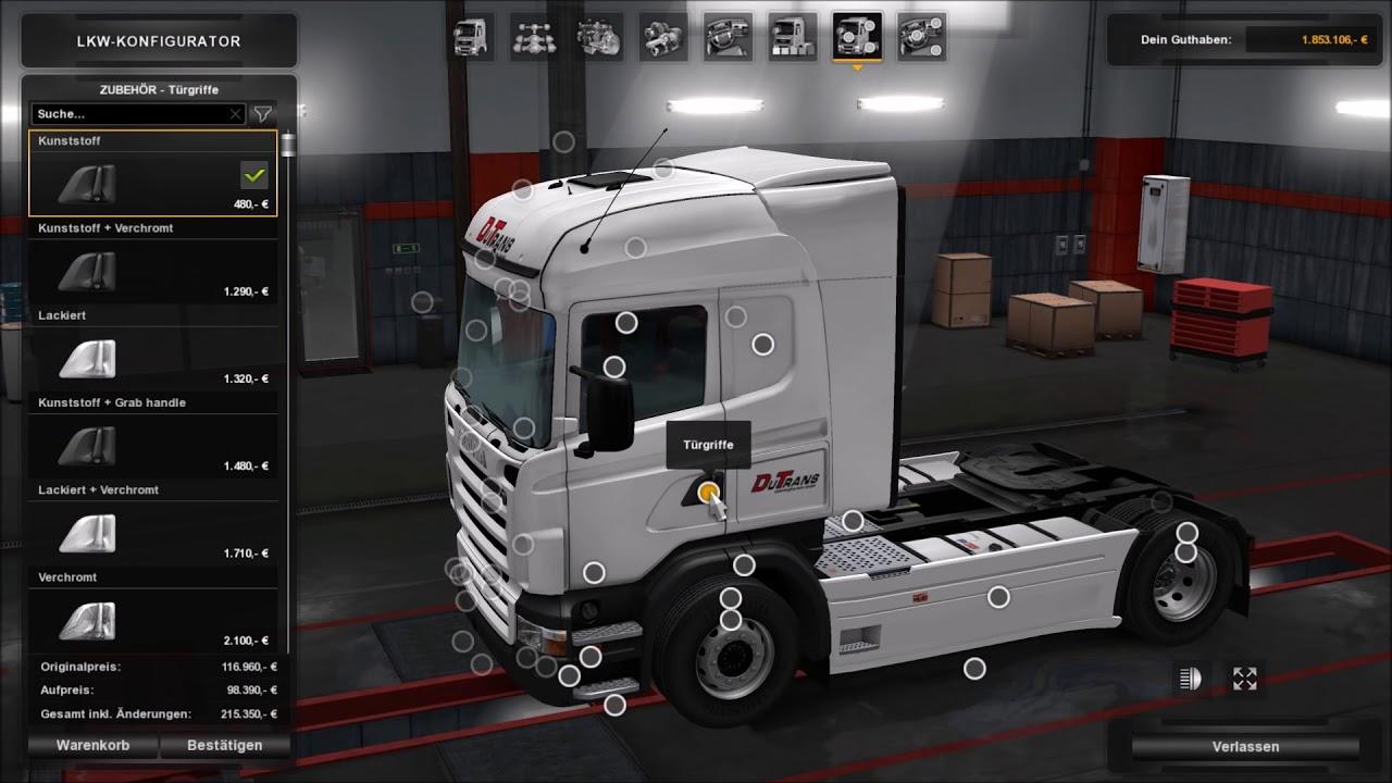 Euro Truck Simulator 2 (1.28.1.3s) - der GTD (German Truck ...