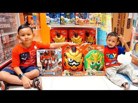 Drama Beli Tas Sekolah Di Toko Mainan Dapat Bentuk Legend Hero Dan Tobot