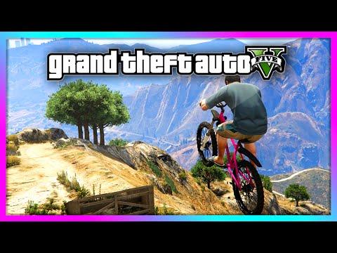 1c2f18dd658 GTA 5 - Extreme Downhill Mountain Bike Race! - Crazy Jumps & WIPEOUT! (GTA V  Mod) - YouTube