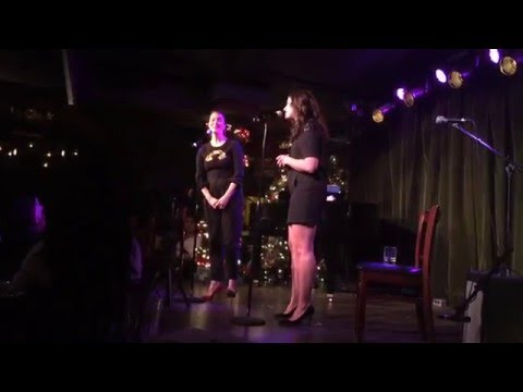 Bellamy Young & Katie Lowes  IAMA Cabaret