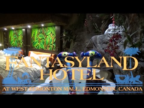 Fantasyland Hotel West Edmonton Mall Modern Polynesian Room Tour