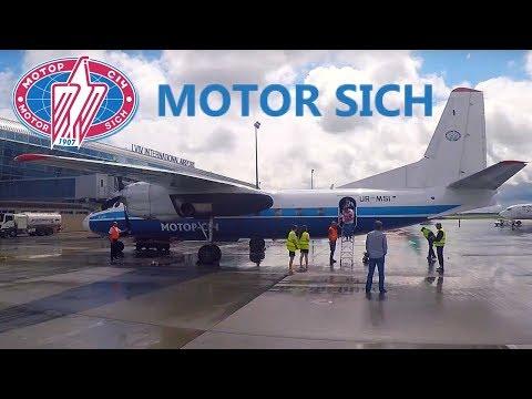 FLIGHT REPORT / MOTOR SICH ANTONOV 24 / KIEV - LVIV