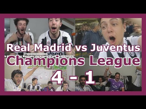Reactions: Real Madrid vs Juventus | Final | Champions League | 4 - 1 | Compilation