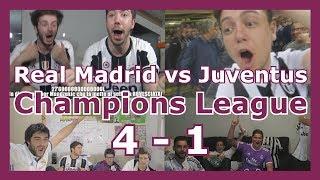 Reacciones: Real Madrid vs Juventus | Final | Champions League | 4 - 1 | Recopilación