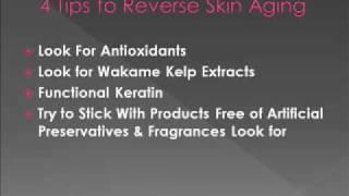 4 Tips To Reverse Skin Aging Thumbnail