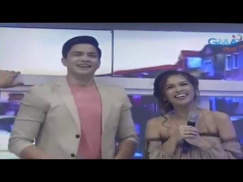 Alden Richards And Maine Mendoza 9th MONTHSARY DANCE NO. - April 16, 2016