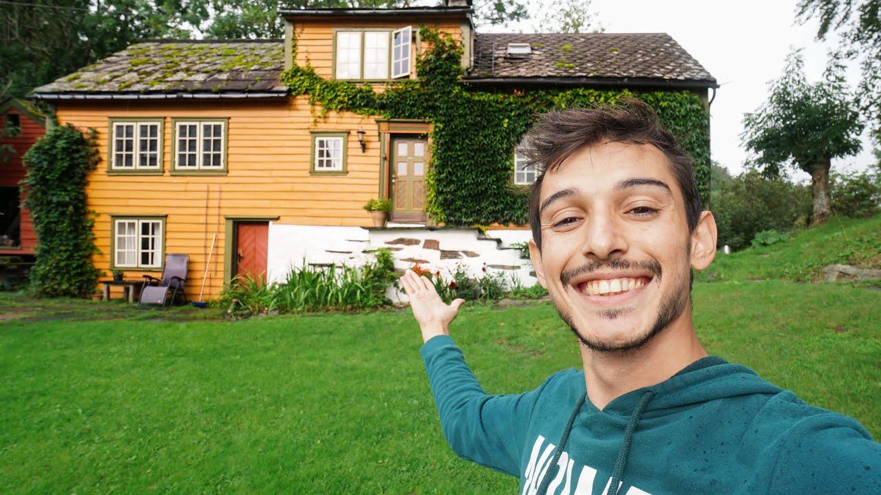 Norveç'teki Yeni Çiftlik Evim! - EV TURU