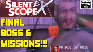 Silent Scope EX! Arcade Sniping! Final Boss & Mission