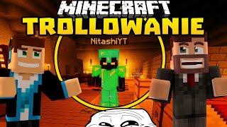 Minecraft Trollowanie #85 - KWADRATOWA MASAKRA EDITION! /w Purposz