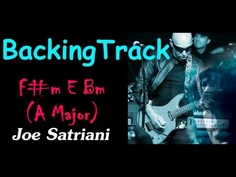 "Backing Track - Joe Satriani Style""If There Is No Heaven"""