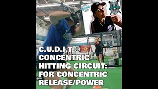 CUDIT® CONCENTRIC SOFTBALL / BASEBALL HITTING DRILLS GOCUDIT.COM -HIT LIKE FOR MORE DRILLS!