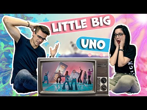 РЕАКЦИЯ украинцев на LITTLE BIG - UNO | Евровидение 2020