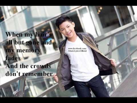 Thinking Out Loud by Darren Espanto NEW VERSION ( Lyrics On Screen )