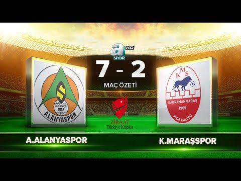 Aytemiz Alanyaspor 7-2 Kahramanmaraşspor | Maç Özeti