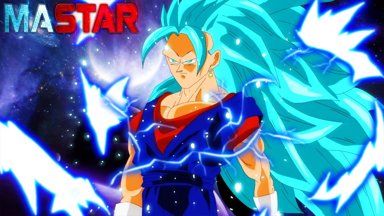 Vegito Blue Super Saiyan 3 Speed Paint Free Hd Wallpaper Youtube